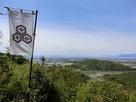 登城路から琵琶湖方面を眺める…