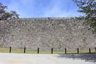 清水門正面の石垣…