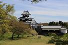 富士見櫓跡からみた三重櫓…