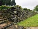 中の御門の手前の石垣…