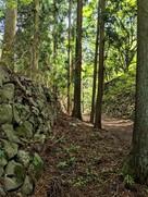 大手門への登城路…