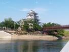 太閤出世橋と墨俣城天守…