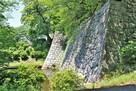 巽櫓跡と冠木御門桝形石垣(北東側)…