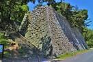 月見櫓跡石垣(南東側)…