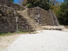 苗木城 大矢倉の石垣…