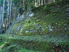 岩村城 菱櫓の石垣…