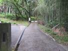 秋葉公園入り口…