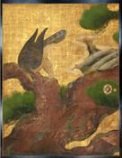 重要文化財・二の丸御殿障壁画「松鷹図」…