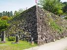 出石城 二の丸石垣…