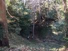 本丸北側の堀