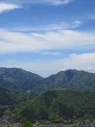 第一展望台から初夏の竹田城…