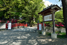 霞ヶ城跡と長生橋…