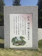 於大 緒川城に生まれる…