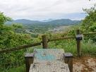 大津山山頂(本丸)からの眺望…