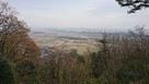 山の神曲輪から横田基地を望む…