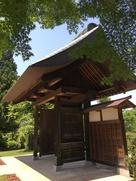 観音寺の移築門…