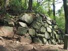 本丸残存石垣