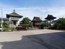 長安寺館内側からの撮影…