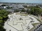 岸和田城庭園(八陣の庭)…