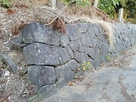 本丸(境内)の石垣…