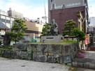 柴田勝家公の銅像…