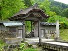 館跡の唐門