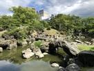 表御殿庭園の石組み…