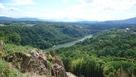笠置矢倉付近から望む木曽川…