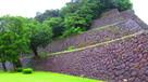 本丸南面の高石垣…