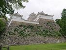 帯の櫓と23mの高石垣…