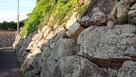 櫛崎城 二の丸石垣…