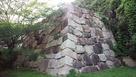 櫛崎城 本丸石垣…