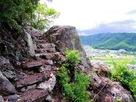 登山道からの眺め…