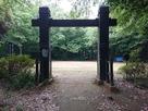 西郭(本丸)の冠木門…