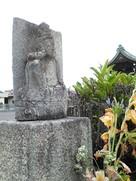般若寺入口の石仏