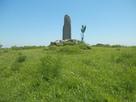白米城(南郭)の石碑