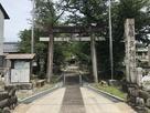 本丸北側の多賀神社…