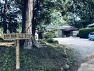 越生神社駐車場(北側入口側から)…