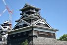宇土櫓(加藤神社から)…