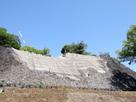 東十八間櫓下の石垣…