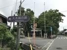 道案内(大木神社前)…