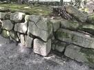 転用石(持仏堂曲輪の雁木)…