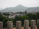 篠山城天守台からの遠景(小雨)…