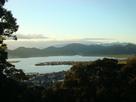 摠見寺からの景色(琵琶湖方面)…