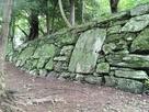 二の丸西面石垣…