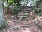 中の丸跡へ続く階段
