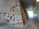 三原駅の下の石垣