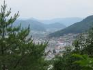 旧本城からの遠景…