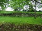 堡塁内側の石積…
