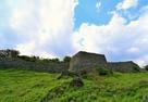 南のアザナ(凸部)石垣…